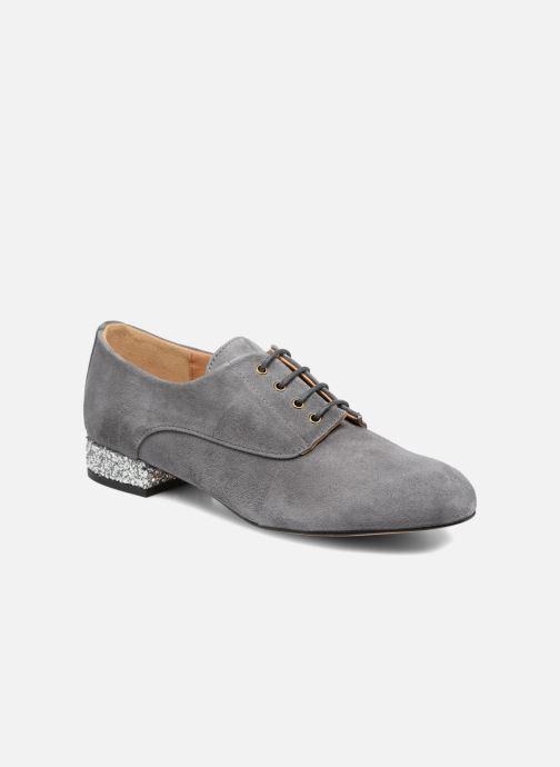 Chaussures à lacets Mellow Yellow Annette Gris vue détail/paire