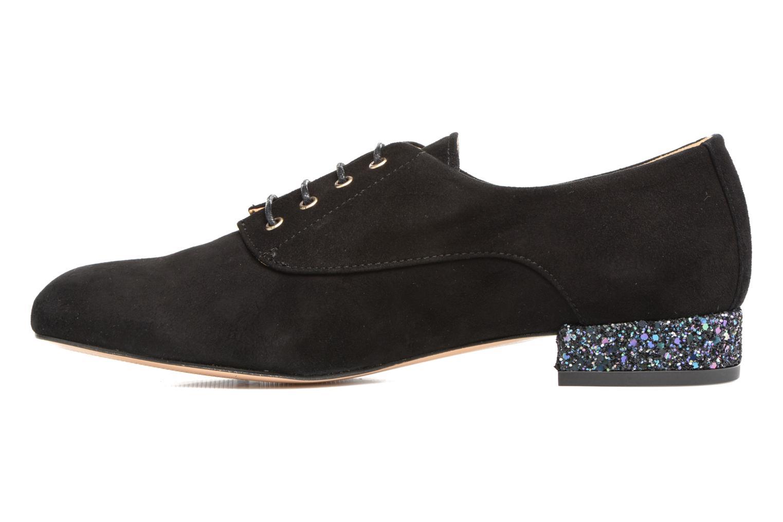 Chaussures à lacets Mellow Yellow Annette Noir vue face