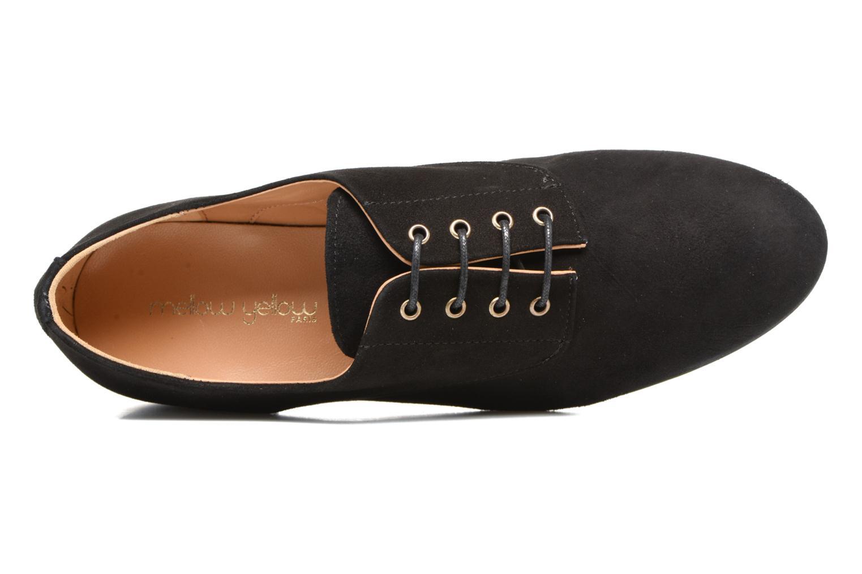 Chaussures à lacets Mellow Yellow Annette Noir vue gauche