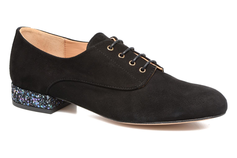 Chaussures à lacets Mellow Yellow Annette Noir vue détail/paire