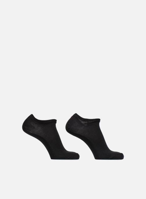 Sokken en panty's Tommy Hilfiger Sneaker Lot de 2 Zwart detail