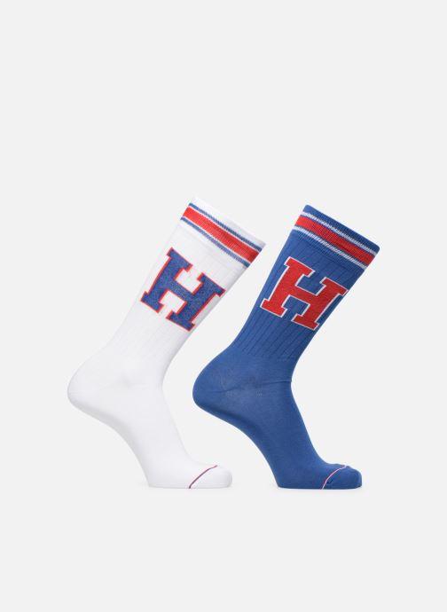 Chaussettes et collants Tommy Hilfiger Patch Sock Lot de 2 Bleu vue détail/paire