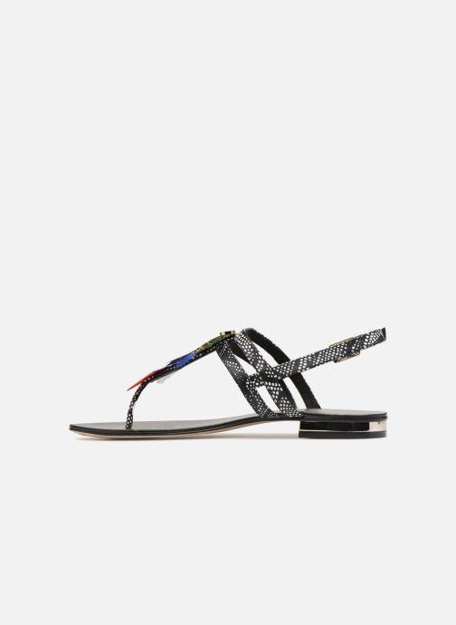 Sandales et nu-pieds COSMOPARIS HIPLUME Noir vue face