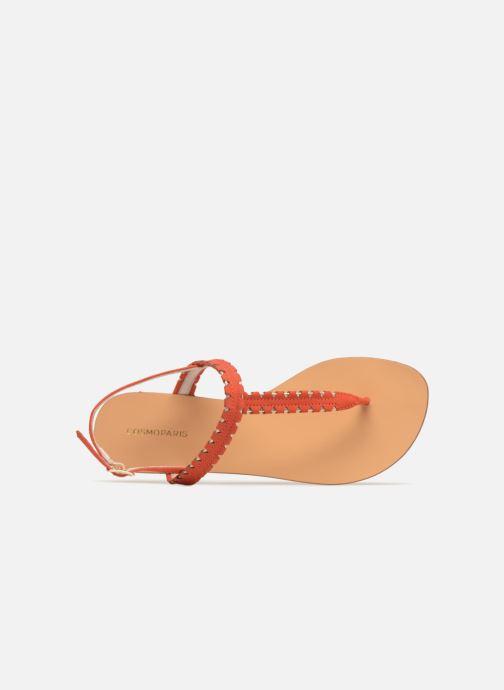 Corail Cosmoparis 218 Et Nu pieds or Sandales Hizi lcKF1J