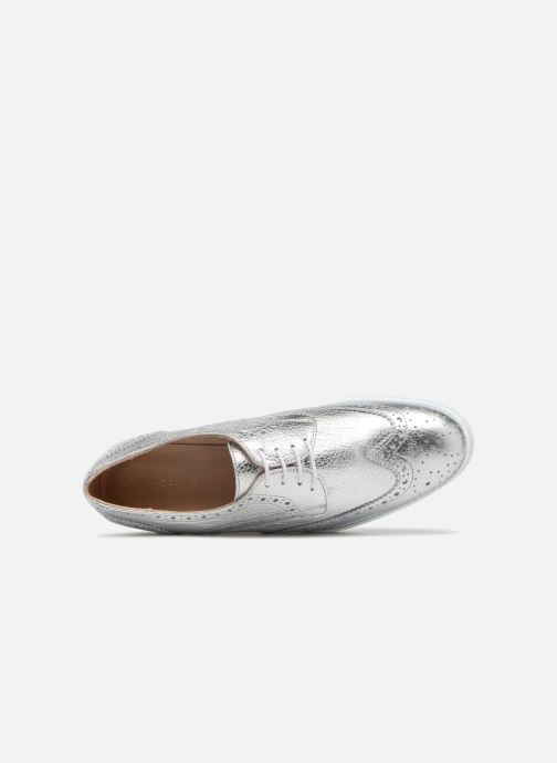 Zapatos con cordones COSMOPARIS VAJIA/MET Plateado vista lateral izquierda