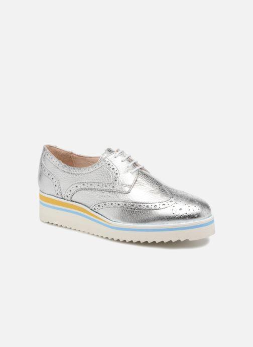 Chaussures à lacets COSMOPARIS VAJIA/MET Argent vue détail/paire