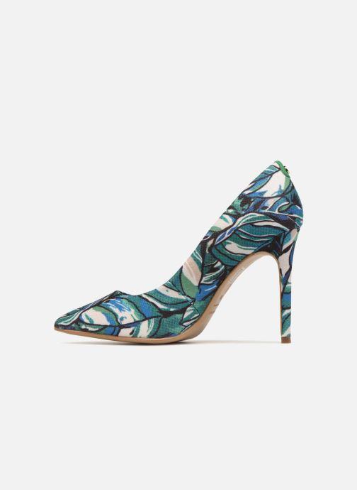 High heels COSMOPARIS JISSIA/TROPIC Green front view