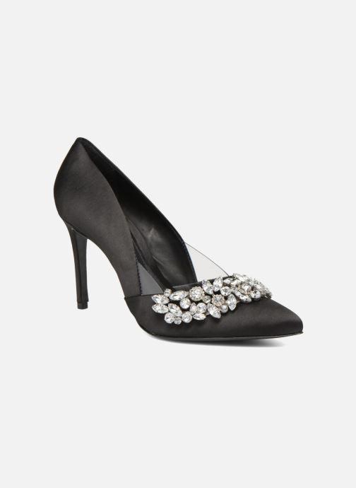 High heels COSMOPARIS ADIA/SAT Black detailed view/ Pair view