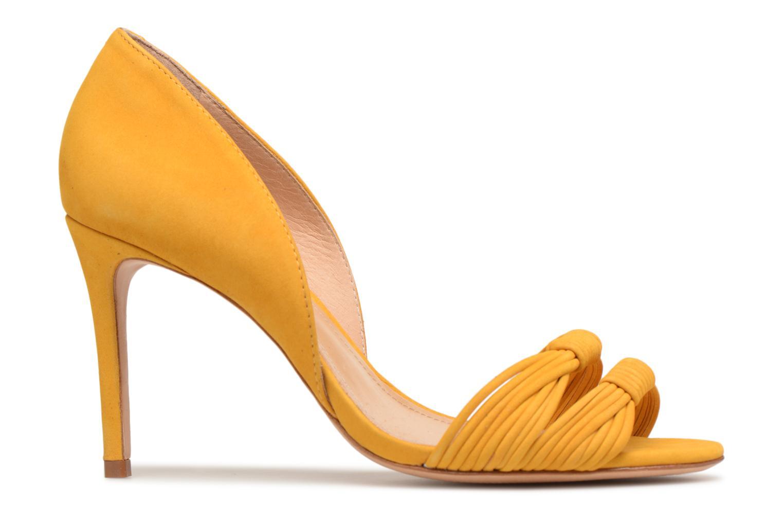 Sandales et nu-pieds COSMOPARIS ALILI Jaune vue derrière