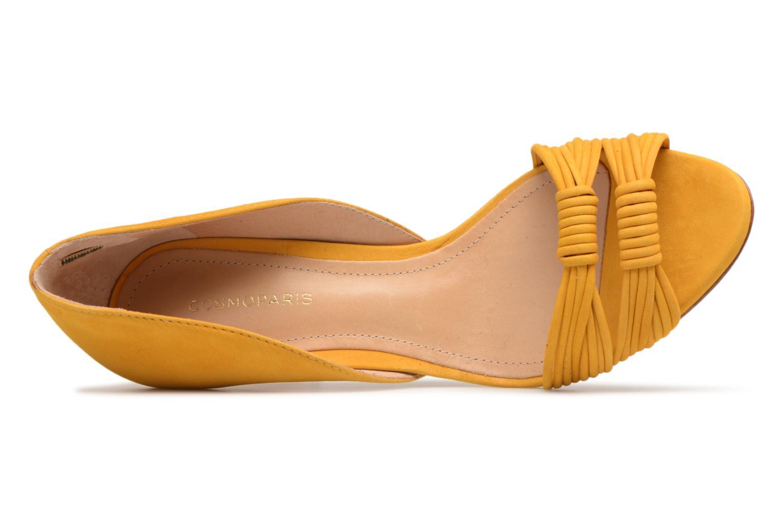 Sandales et nu-pieds COSMOPARIS ALILI Jaune vue gauche