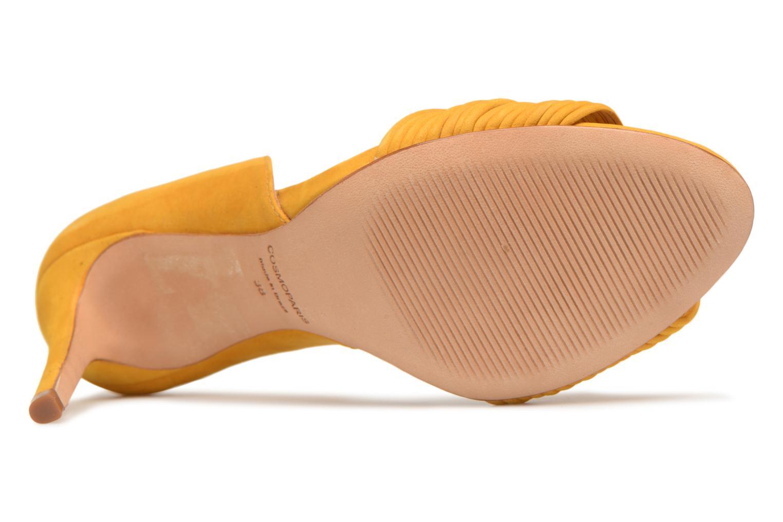 Sandales et nu-pieds COSMOPARIS ALILI Jaune vue haut
