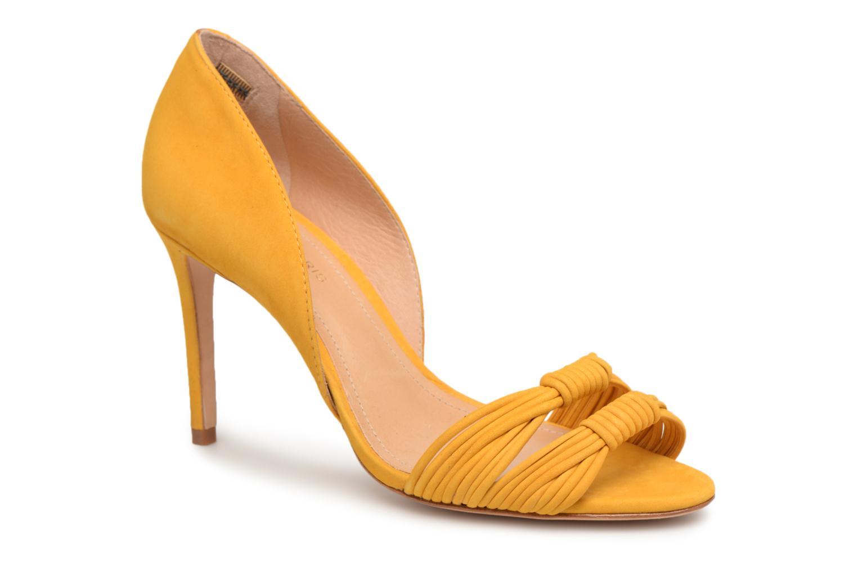 Sandales et nu-pieds COSMOPARIS ALILI Jaune vue détail/paire