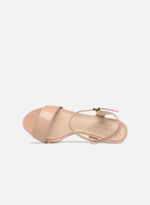 Sandales et nu-pieds COSMOPARIS JADIA/VER Beige vue gauche