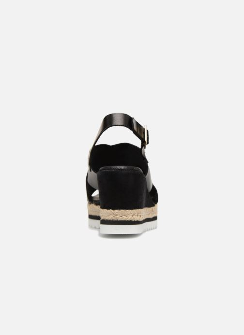 Espadrilles COSMOPARIS IPOMA Black view from the right