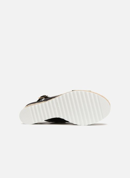 Espadrilles COSMOPARIS IPOMA Black view from above