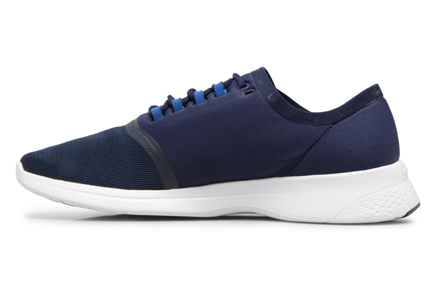 Baskets Lacoste LT FIT 118 4 Bleu vue face