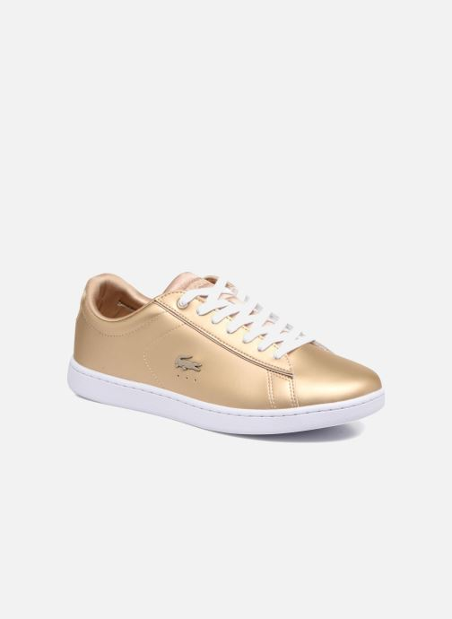 4bfd8502c6 Lacoste CARNABY EVO 118 1 (Or et bronze) - Baskets chez Sarenza (318287)