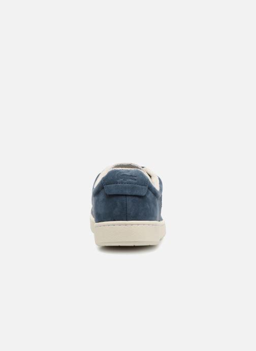 Baskets Lacoste CARNABY EVO 118 1 Bleu vue droite