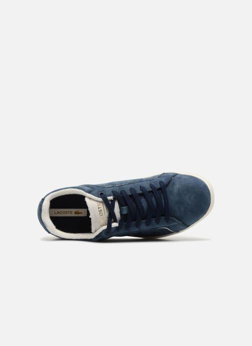 Baskets Lacoste CARNABY EVO 118 1 Bleu vue gauche