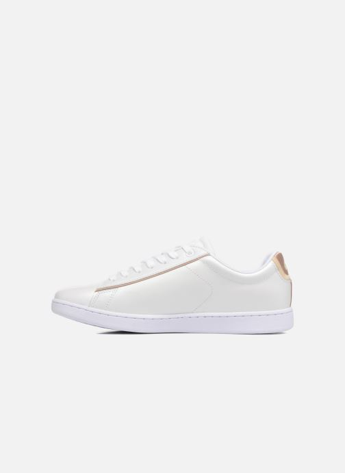 Baskets Lacoste CARNABY EVO 118 6 Blanc vue face
