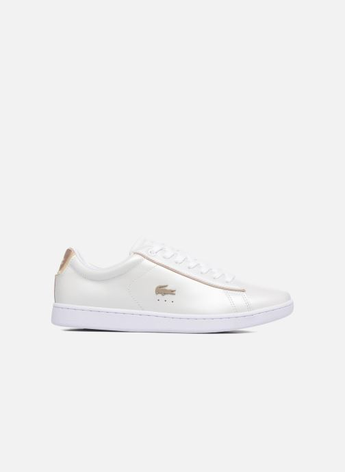 Sneakers Lacoste CARNABY EVO 118 6 Hvid se bagfra