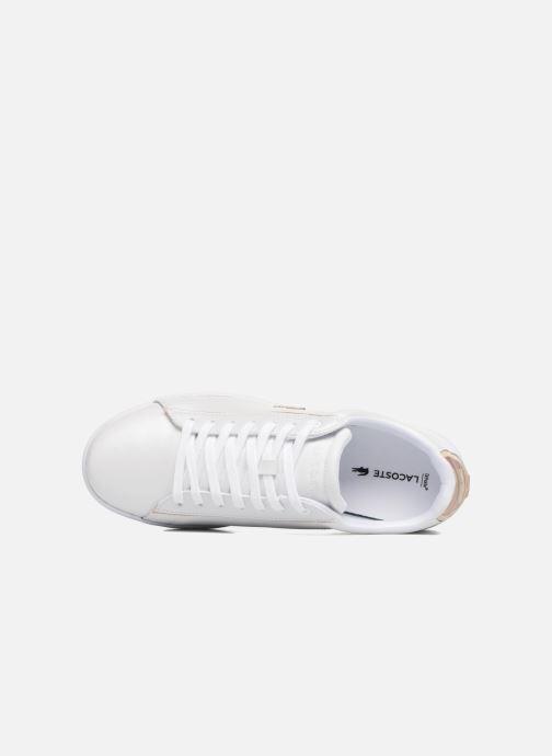 Sneakers Lacoste CARNABY EVO 118 6 Hvid se fra venstre
