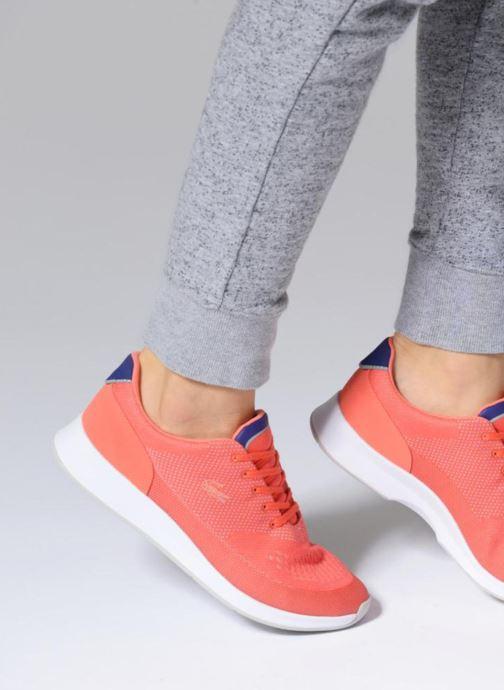Sneaker Lacoste CHAUMONT 118 3 orange ansicht von unten / tasche getragen
