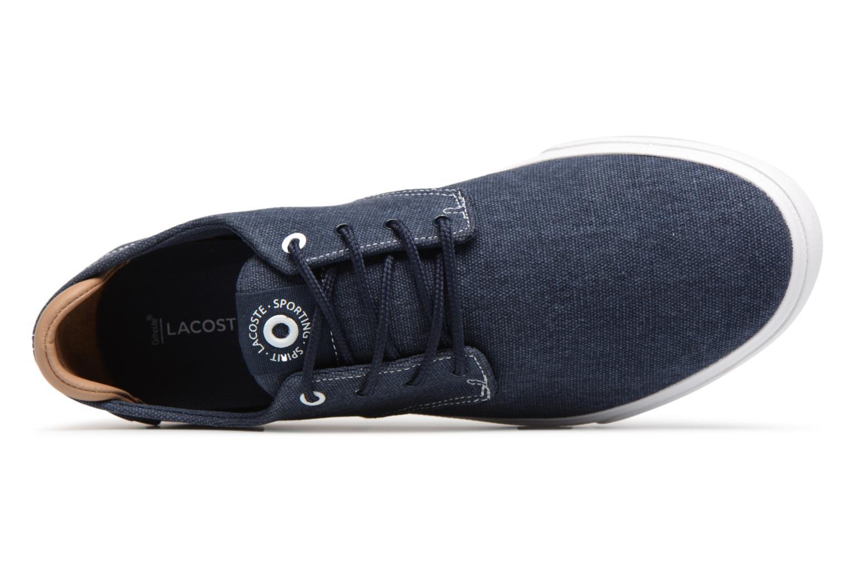 Sneakers Lacoste ESPARRE 118 2 Blauw links