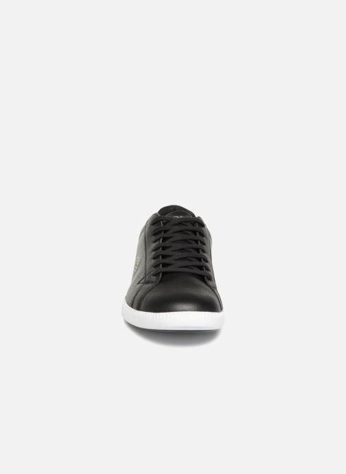 Sneaker Lacoste GRADUATE LCR3 118 1 schwarz schuhe getragen