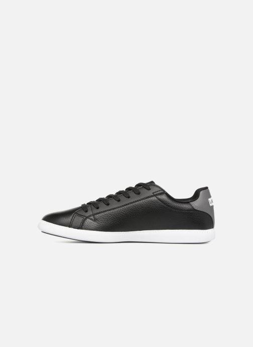 Sneaker Lacoste GRADUATE LCR3 118 1 schwarz ansicht von vorne