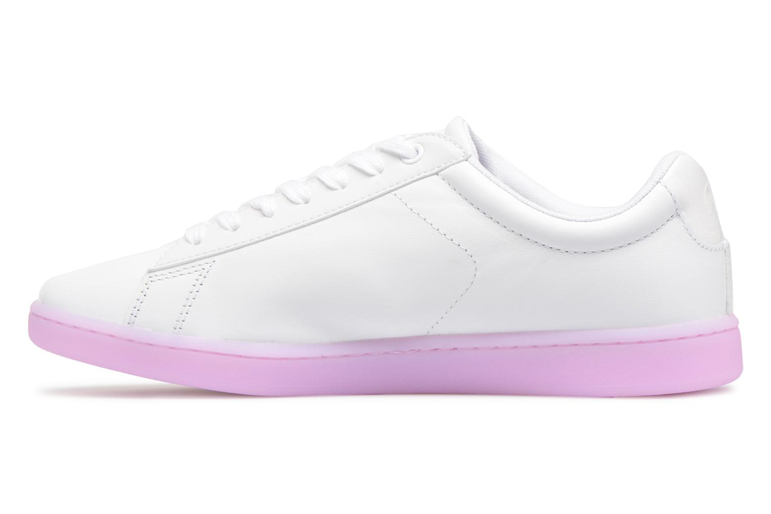Sneakers Lacoste CARNABY EVO 118 3 Wit voorkant