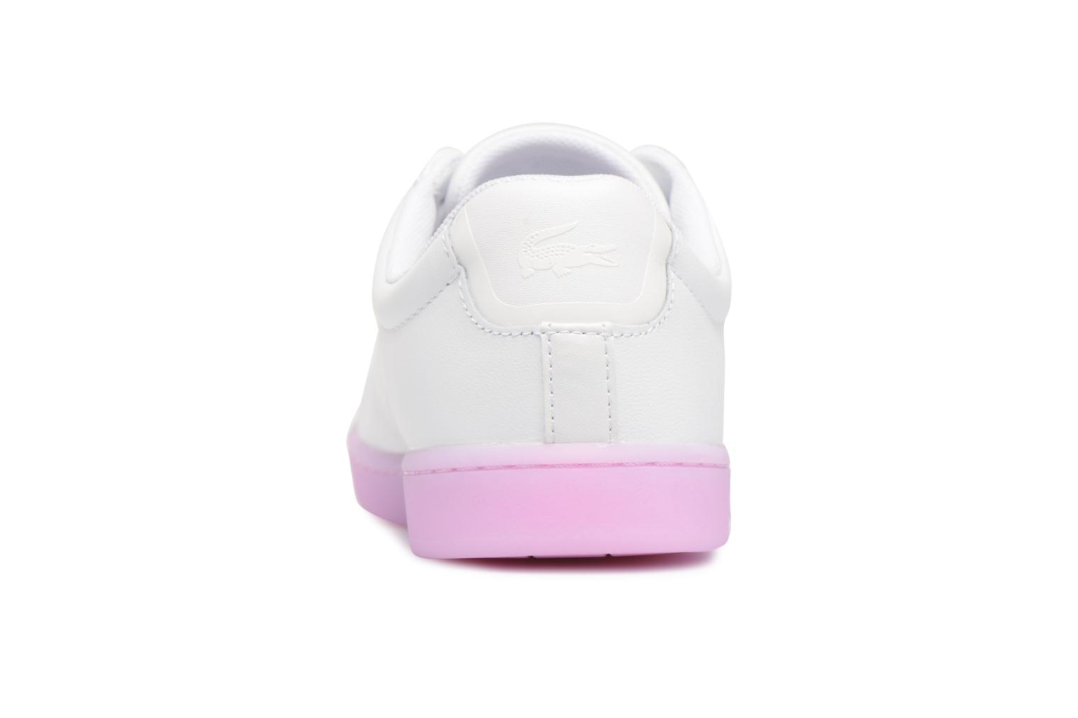 Sneakers Lacoste CARNABY EVO 118 3 Wit rechts