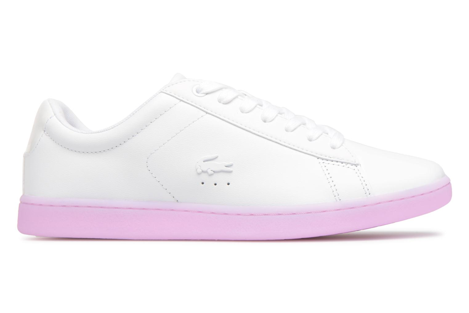 Sneakers Lacoste CARNABY EVO 118 3 Wit achterkant