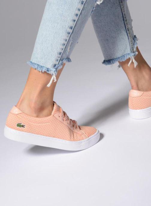 Sneakers Lacoste L.12.12 LIGHTWEIGHT1181 Arancione immagine dal basso