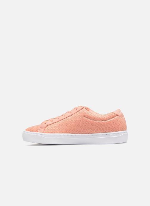 Sneaker Lacoste L.12.12 LIGHTWEIGHT1181 orange ansicht von vorne