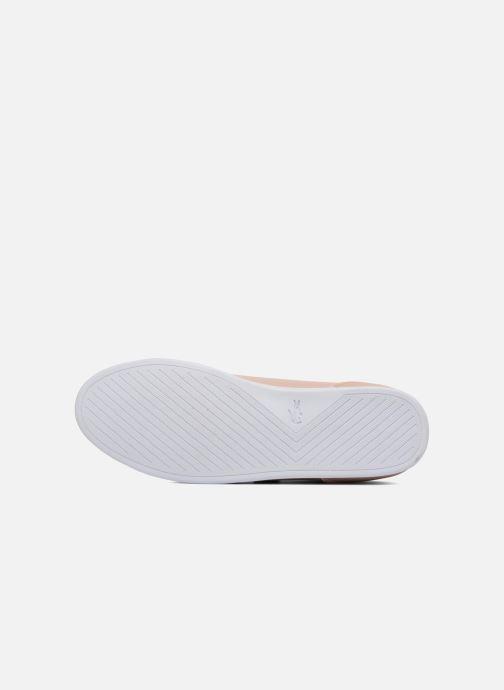 Sneaker Lacoste REY STRAP 118 1 rosa ansicht von oben