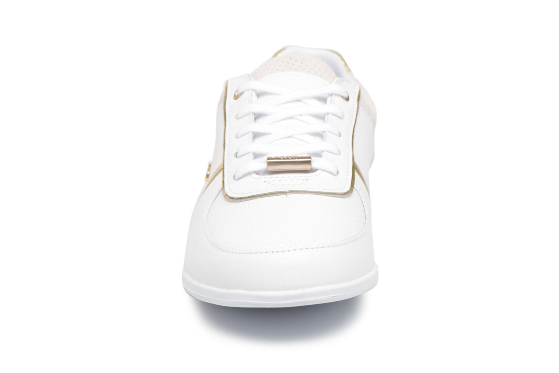 Baskets Lacoste REY U THROAT 118 1 Blanc vue portées chaussures