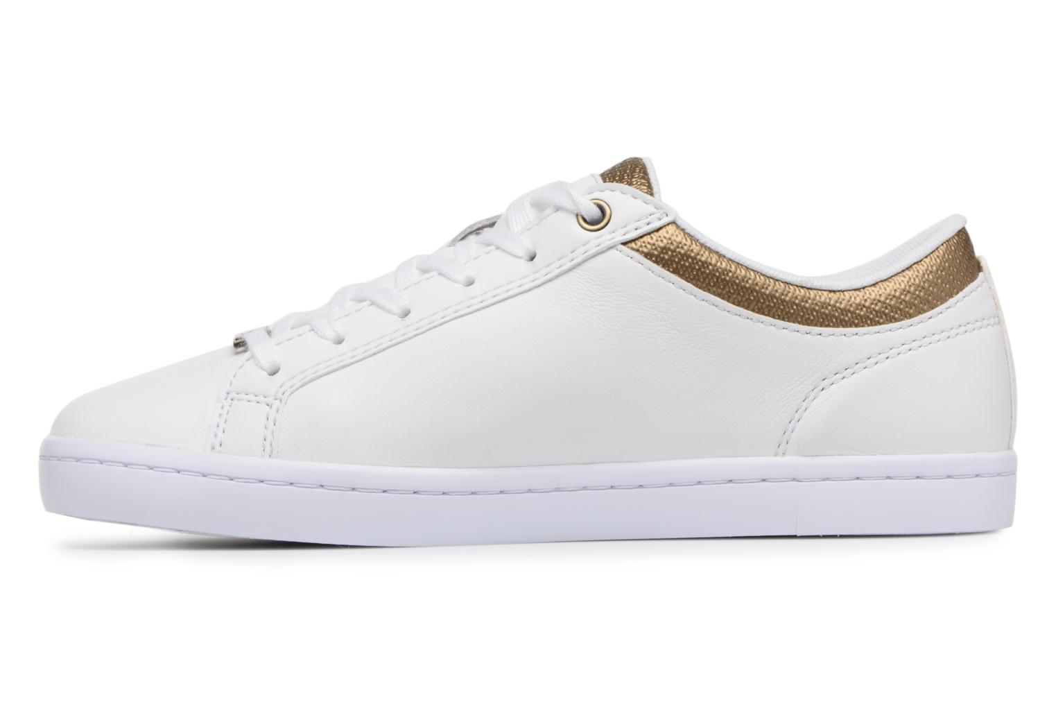 Baskets Lacoste STRAIGHTSET 118 1 Blanc vue face