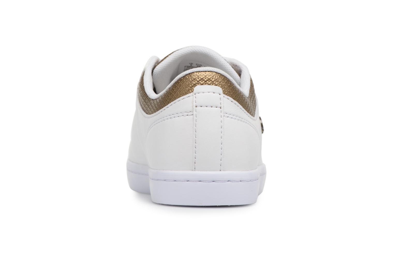 Baskets Lacoste STRAIGHTSET 118 1 Blanc vue droite