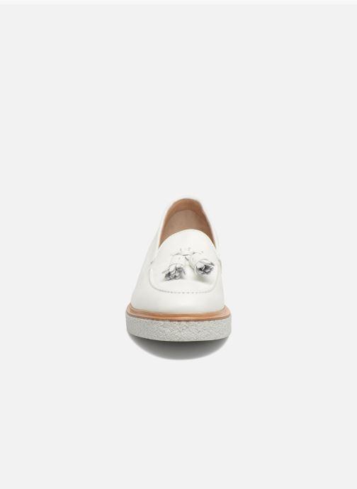 Mocassins Fratelli Rossetti Lazu Blanc vue portées chaussures