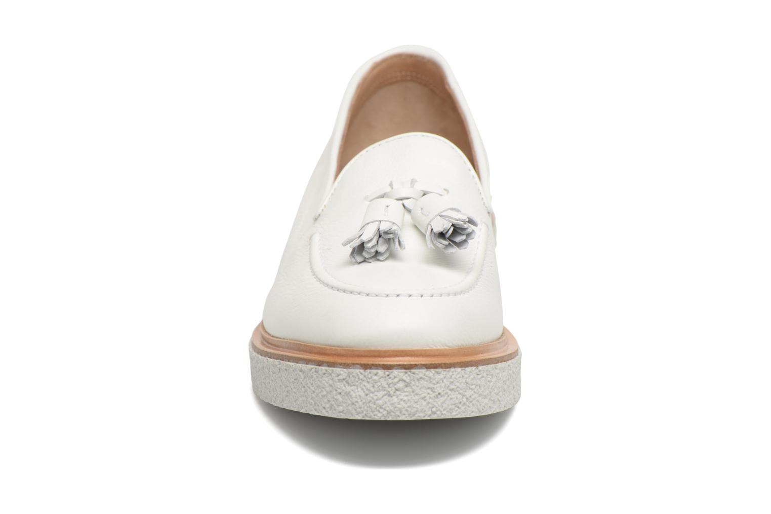 Loafers Fratelli Rossetti Lazu White model view
