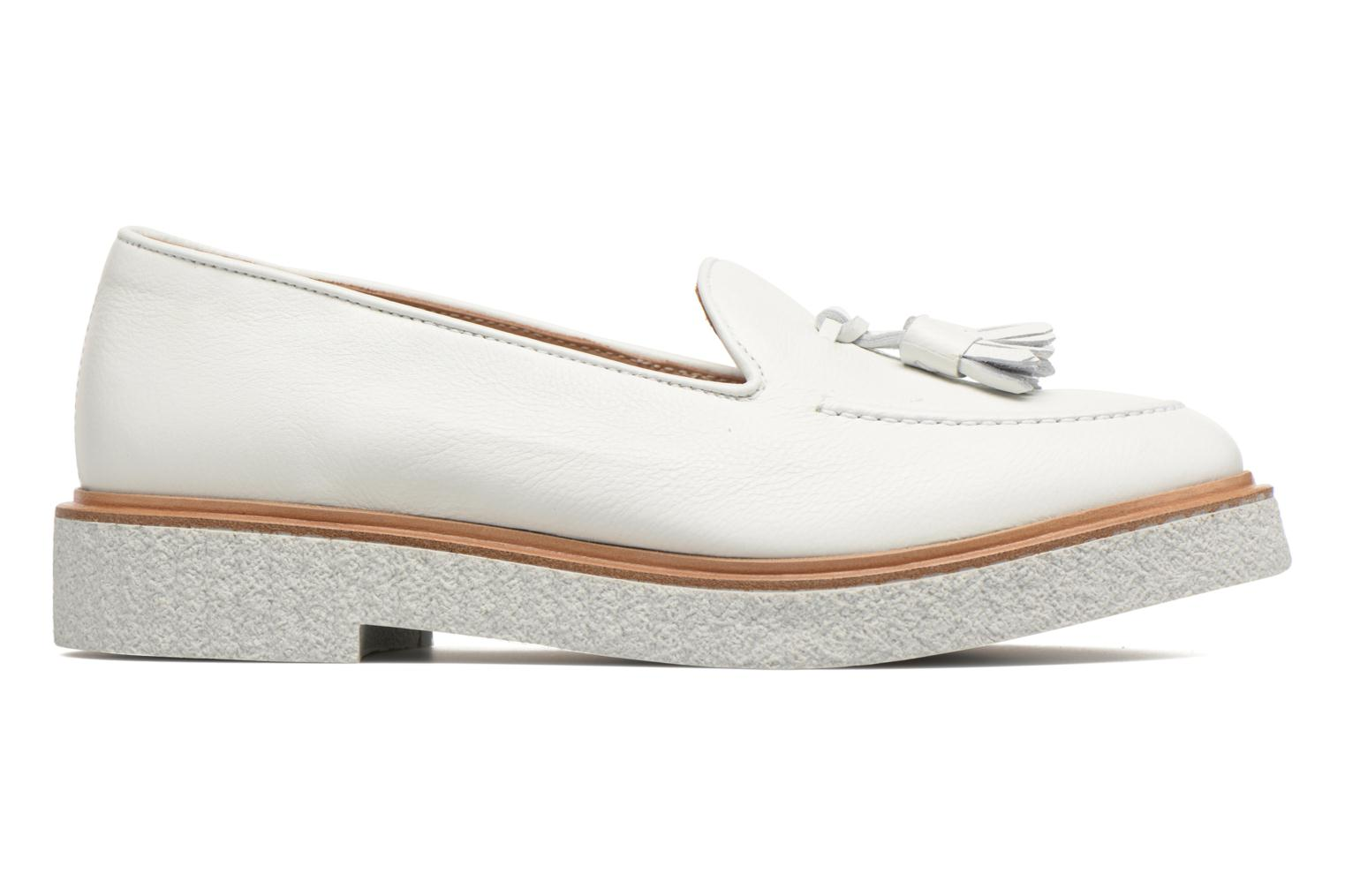 Loafers Fratelli Rossetti Lazu White back view