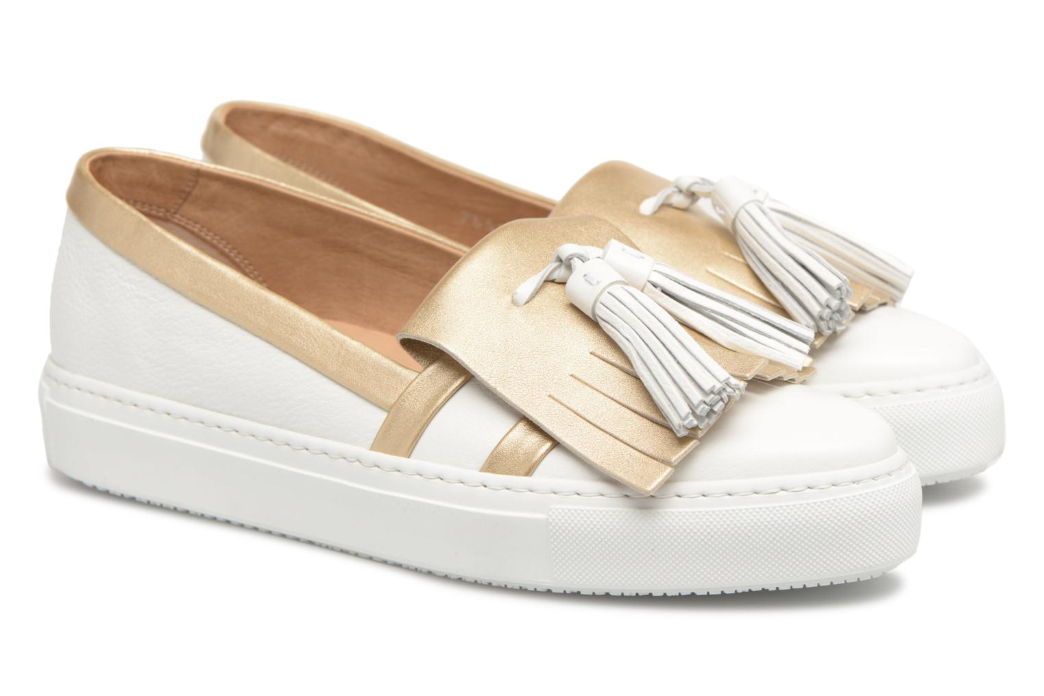 Loafers Fratelli Rossetti Moja White 3/4 view
