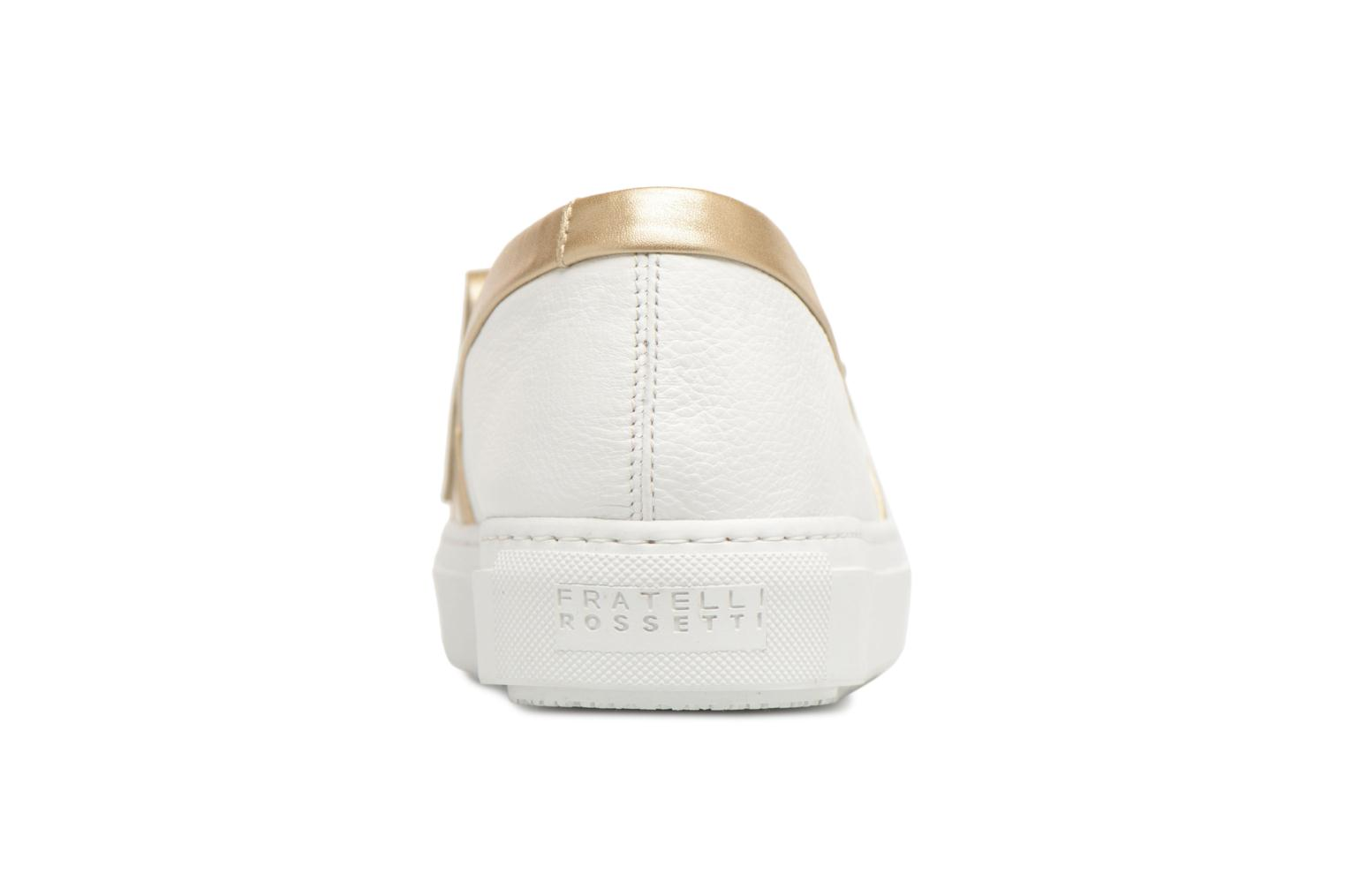 Loafers Fratelli Rossetti Moja White view from the right