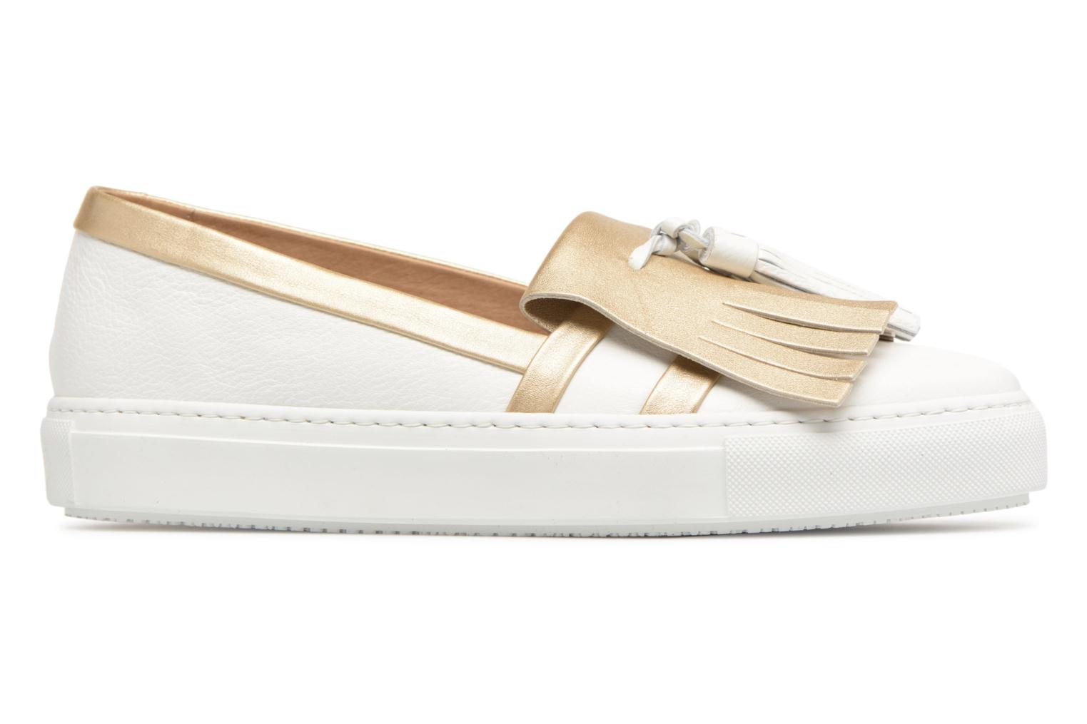 Loafers Fratelli Rossetti Moja White back view
