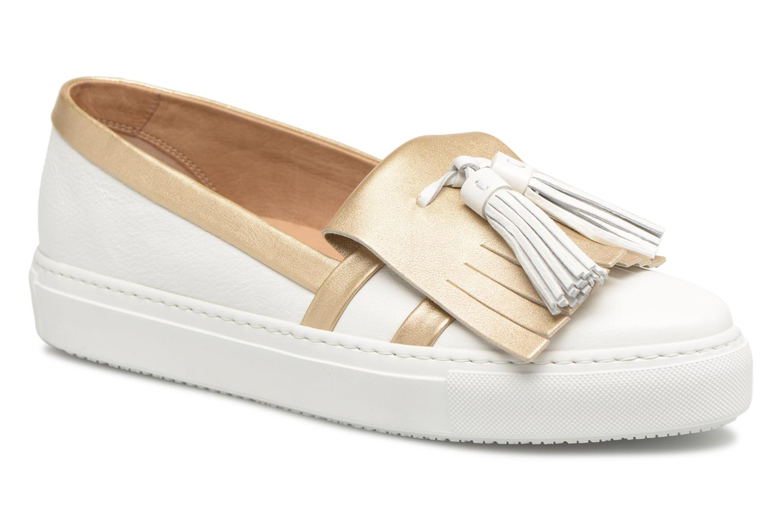 Loafers Fratelli Rossetti Moja White detailed view/ Pair view