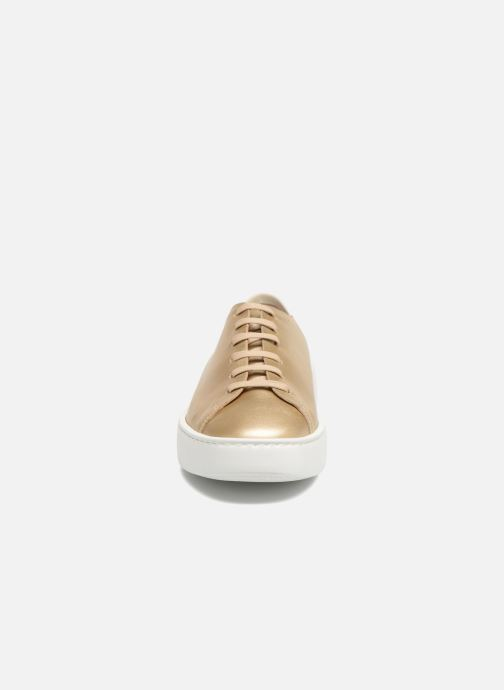 Baskets Fratelli Rossetti Vija Or et bronze vue portées chaussures