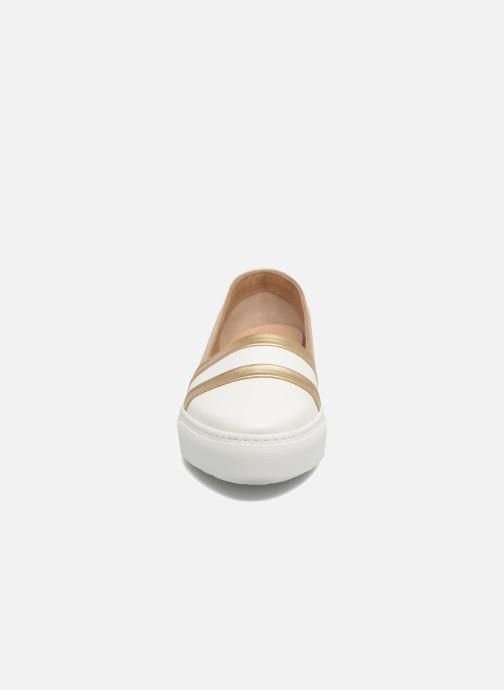 Mocassins Fratelli Rossetti Kosa Blanc vue portées chaussures