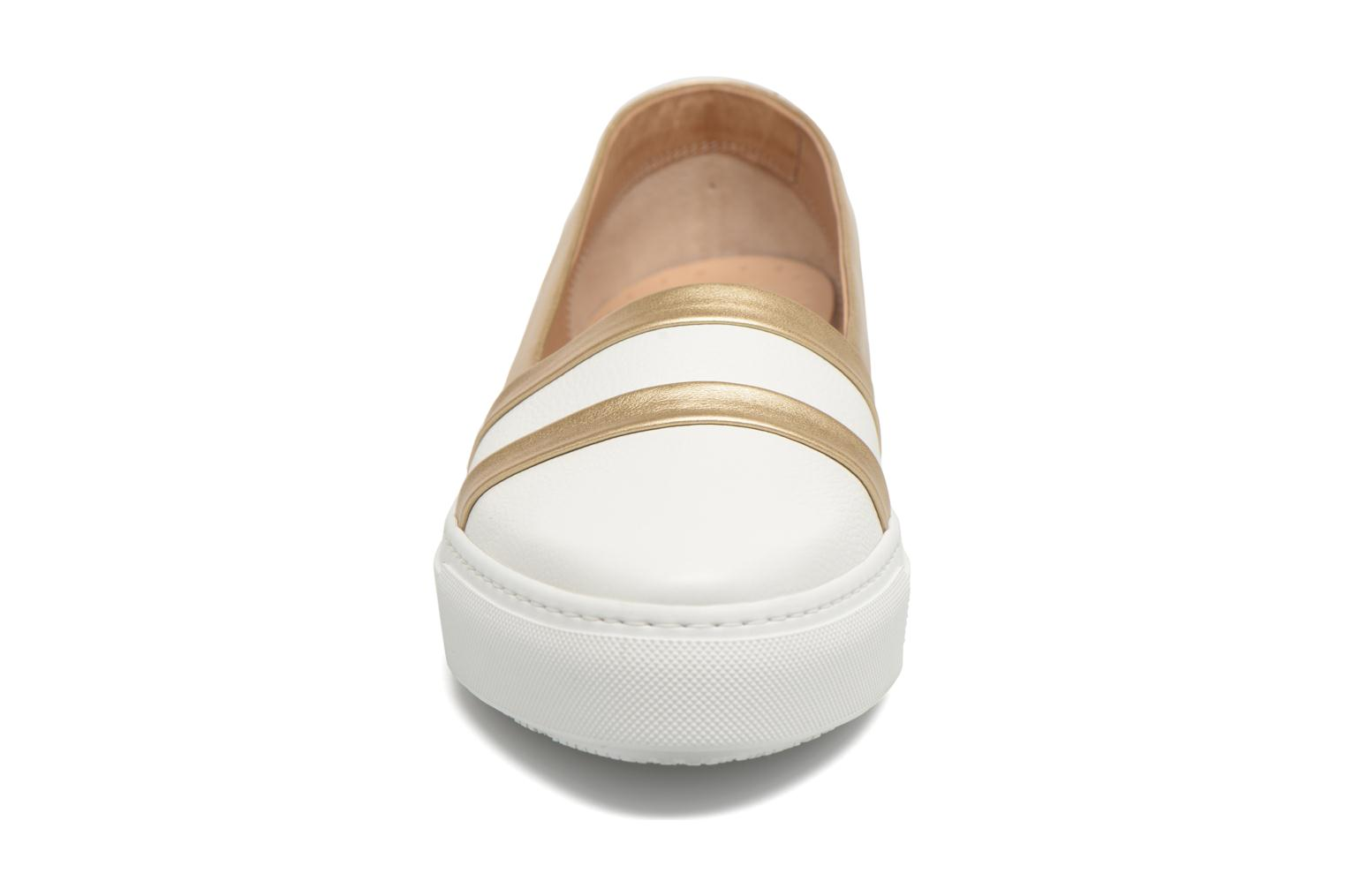 Loafers Fratelli Rossetti Kosa White model view