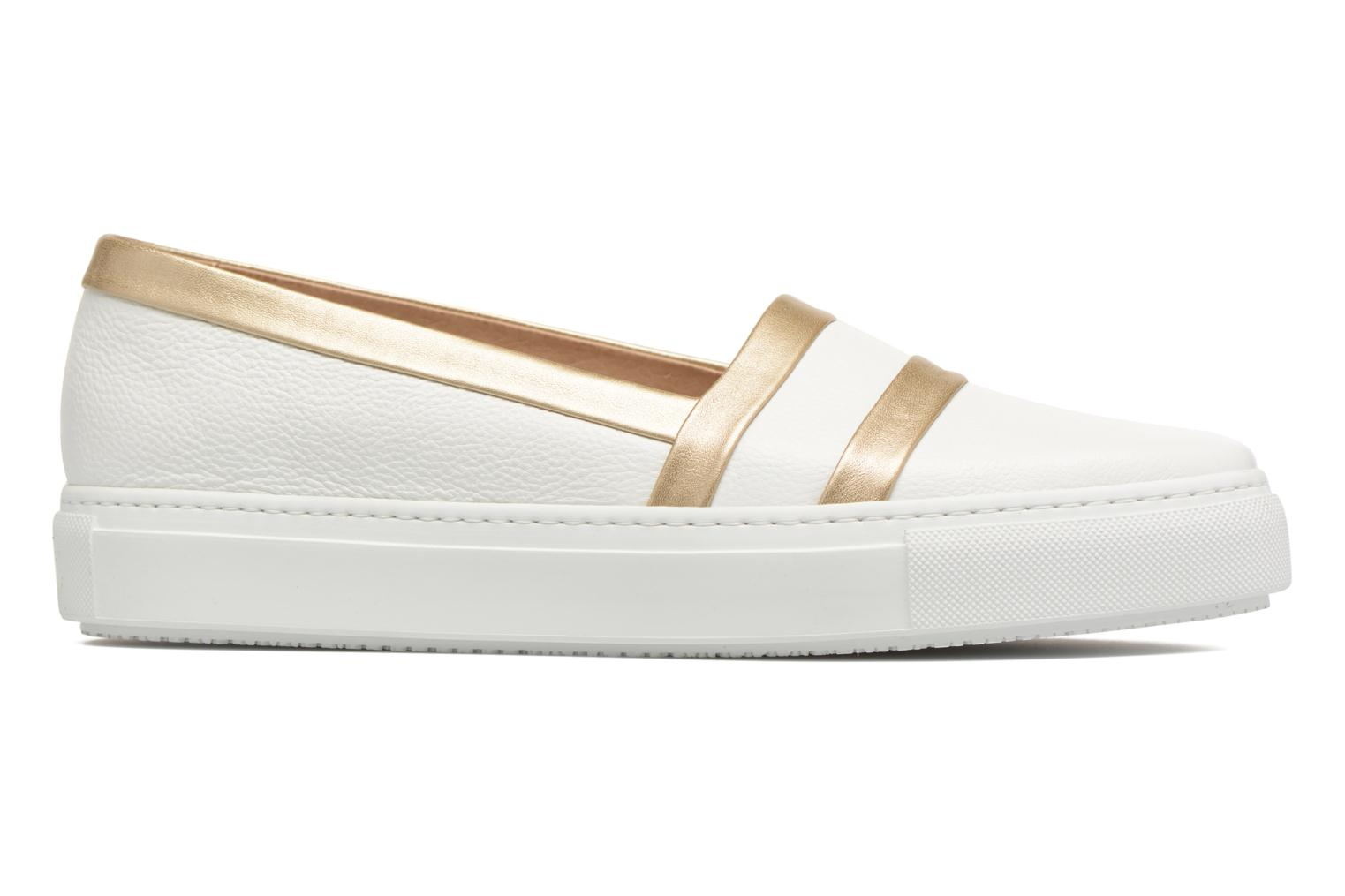 Loafers Fratelli Rossetti Kosa White back view